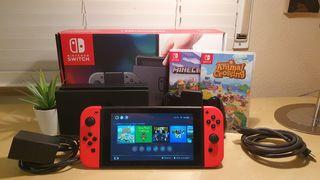 Nintendo Switch (con juegos)