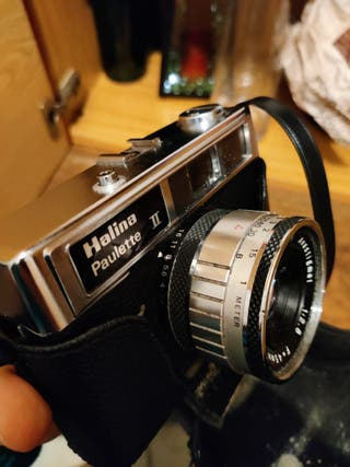 Cámara de fotos Vintage Halina