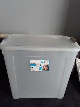 Storage box plastic
