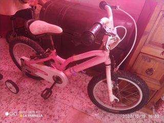 bici para niña monty
