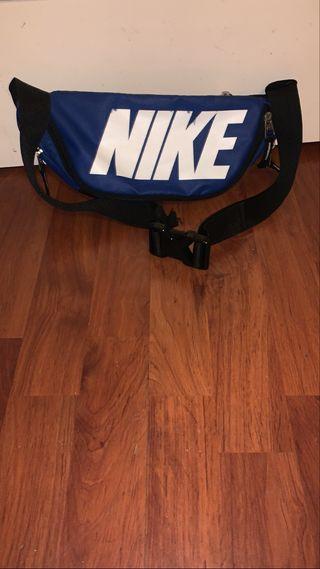 Riñonera azul ajustable Nike