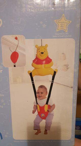 Saltador bebe winnie de pooh