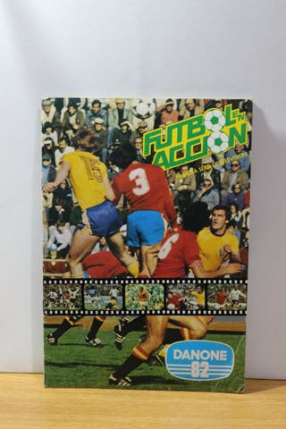 álbum de cromos mundial de fútbol