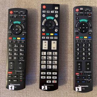 Mandos de TV Panasonic