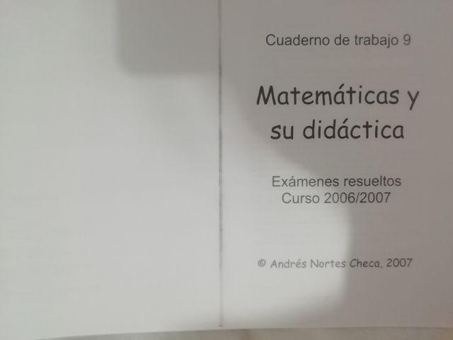 Matemáticas y su didáctica