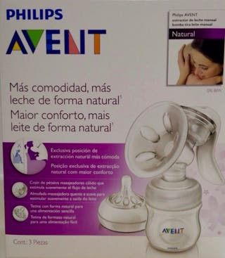 Sacaleche extractor avent Philips manual .