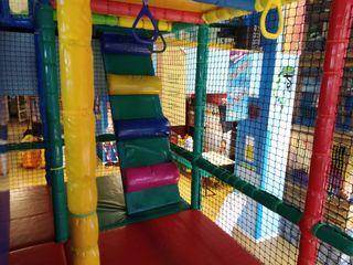 Escalera de colores infantil