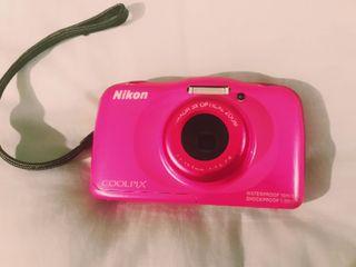 Cámara fotos Nikon Coolpix S33