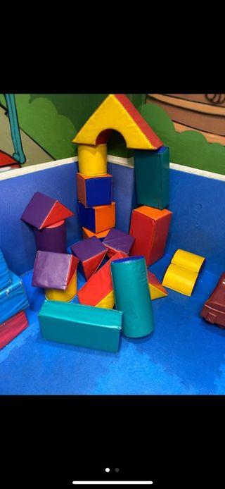 Formas geométricas para parque infantil