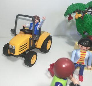 Tractor de la granja de Playmobil