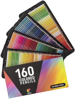 160 Lapices de Colores (Numerados)