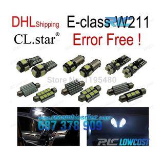 KIT 26 BOMBILLAS LED INTERIOR MERCEDES BENZ W211