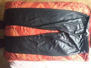 Leggings en cuir taille 2