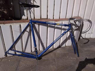 Cuadre bicicleta carretera vintage