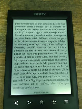 libro electronico reader Sony