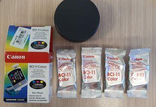 cartuchos tinta BCI-11 Canon