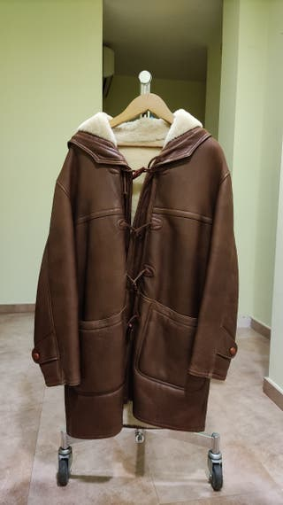 abrigo de hombre, de piel
