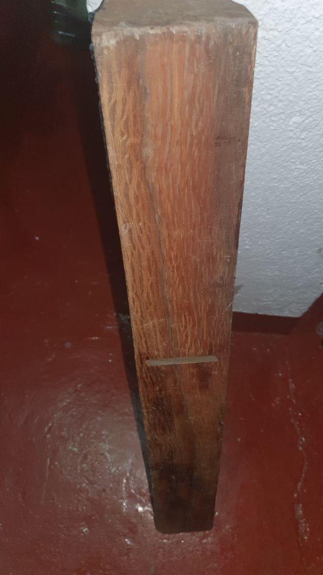 Cepillo madera antiguo