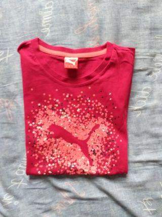 Tee shirt puma taille 14ans