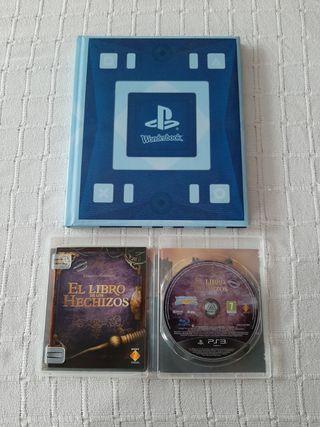 JUEGO y LIBRO DE LOS HECHIZOS para PS3