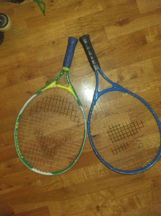 Raquetas tenis niño