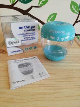 Esterilizador portátil por UV y ozono.