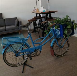 Bicicleta antigua escaparate