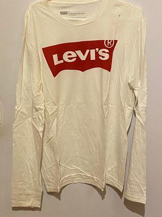 Camiseta manga larga levis