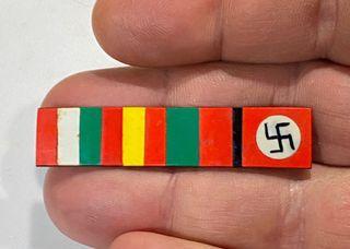 Guerra civil, escaso emblema patriótico