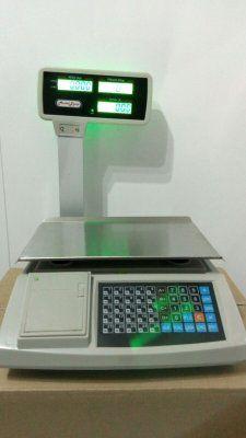 balanza registradora ticket 30kg,4 vendedores