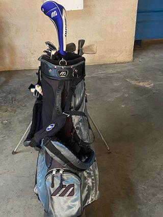 Bolsa y palos de golf para iniciar-se.