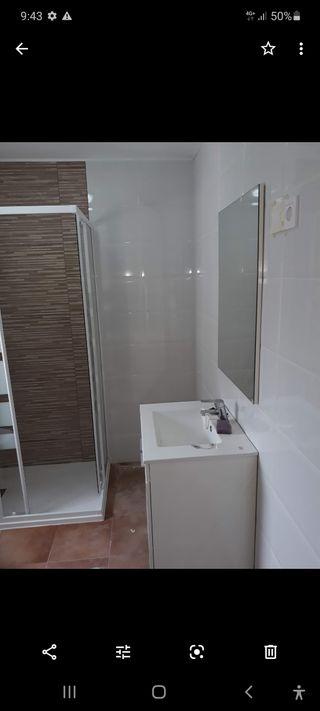 instalador mamparas de baño.