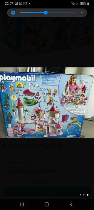 Castillo Palacio de princesa Playmobil