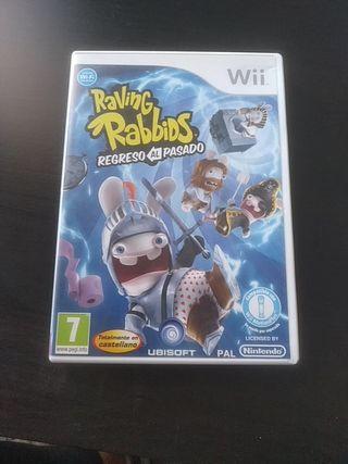 Juego Wii. Racing Rabbids