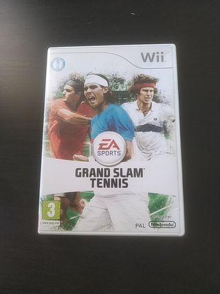 Juego Wii Grande SLAM Tennis