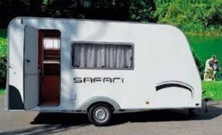 Caravana Across Safari Todos los Extras