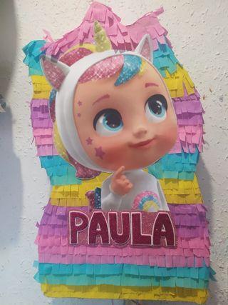piñata bebés llorones