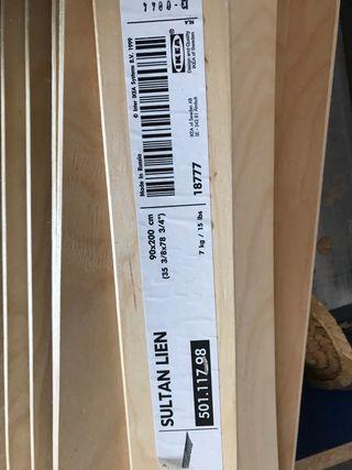 Somier lamas Ikea