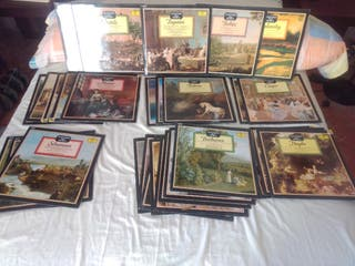 vendo 29 disco vinilo Beethoven Mozart Chopin etc