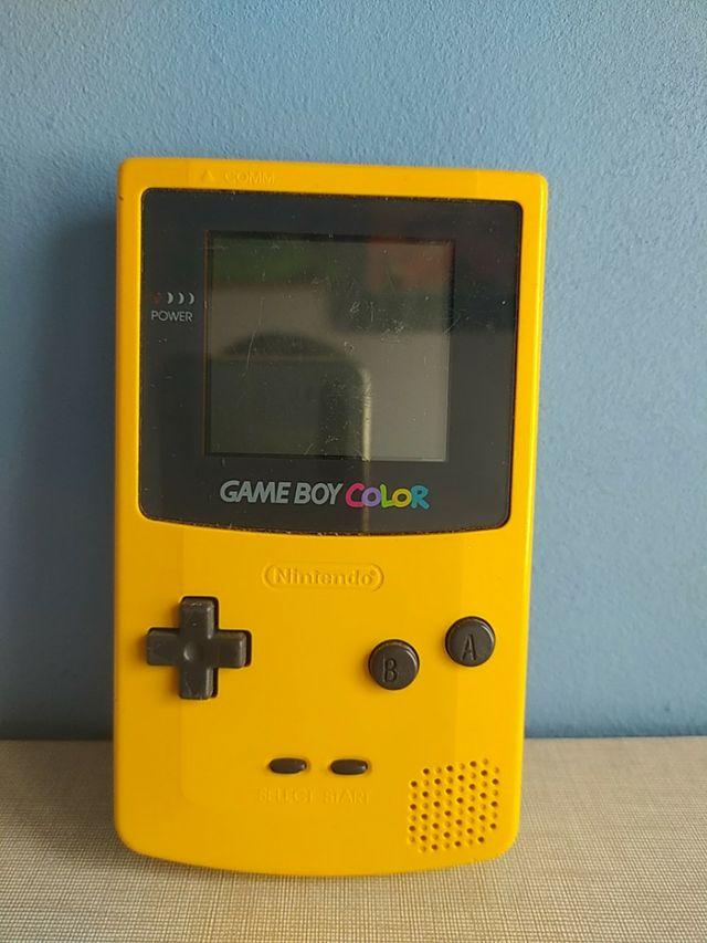 Game boy Color Amarilla Gbc