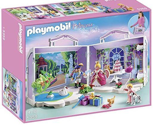 Playmobil princesas Maletín de cumpleaños SIN ABRI