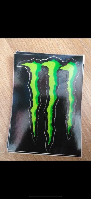 Pegatina original monster