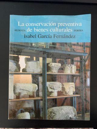 Libro arte conservación y restauración