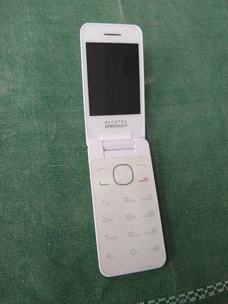 Teléfono móvil Alcatel para personas mayores