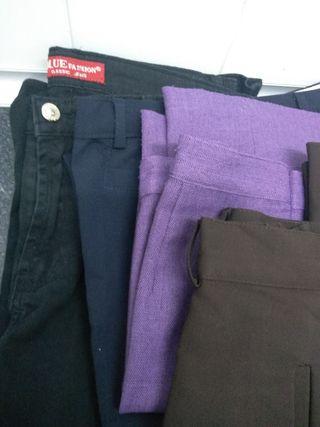 pantalones persona baja talla 40. 4 unidades a 6€