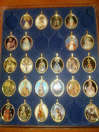 Medallas Devociones Virgen en España