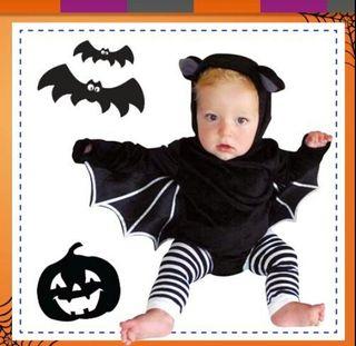 Disfraz de murciélago 6-12 meses Halloween
