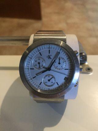 Reloj caballero acero. CK