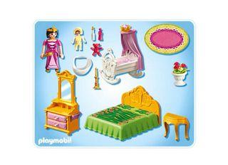Dormitorio castillo princesas Playmobil