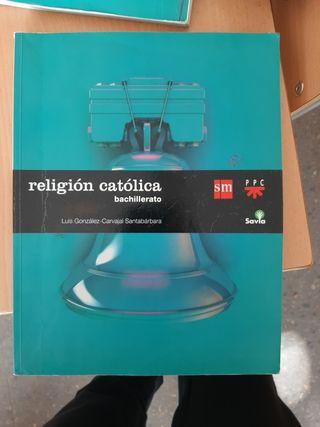 Libro de religión católica 1° Bachillerato